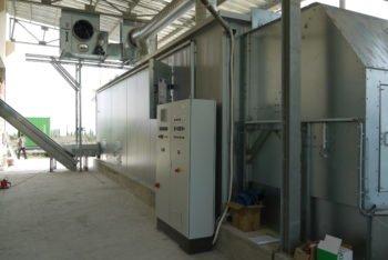 Kläranlage zur Reinigung von Gärresten bei Biogasanlagen