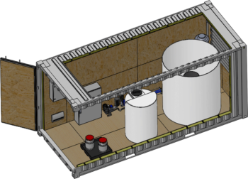 Dissolved Air Flotation (DAF) System