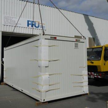 modular wastewater plant