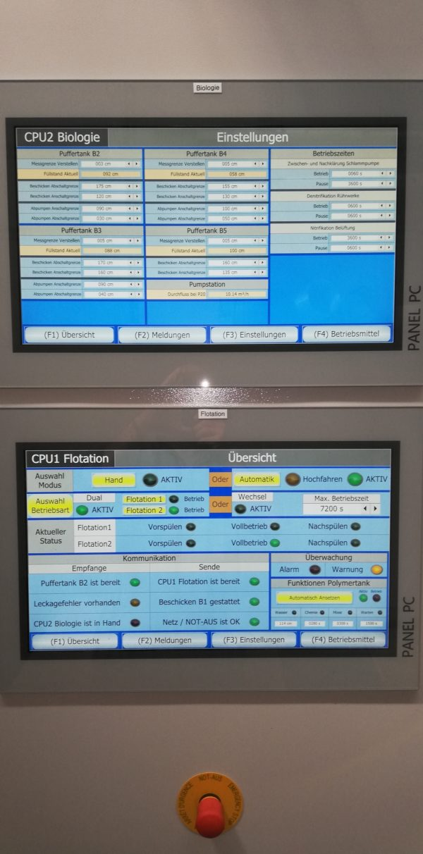 ClearFox Siemens control unit with approval