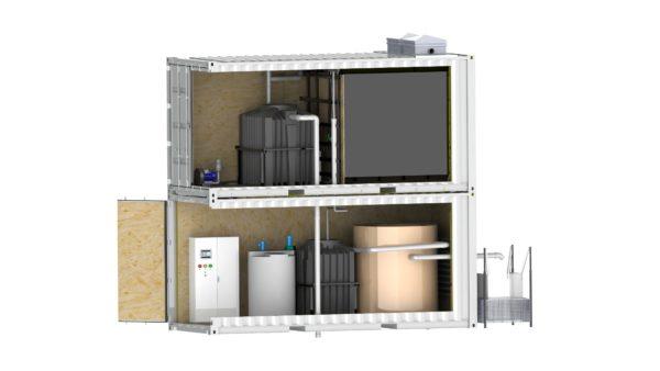 Industrielle Abwasserreinigungsanlage