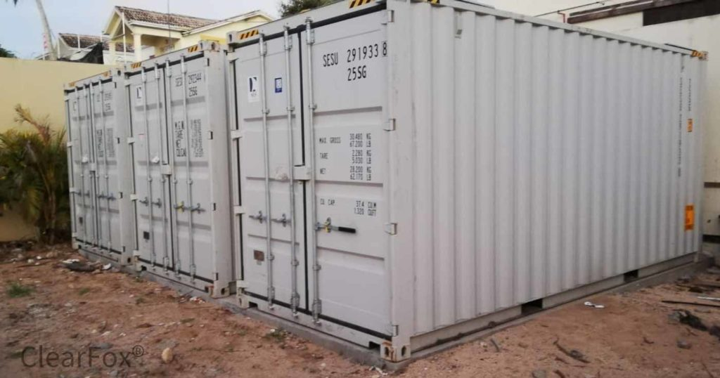 Container wwt