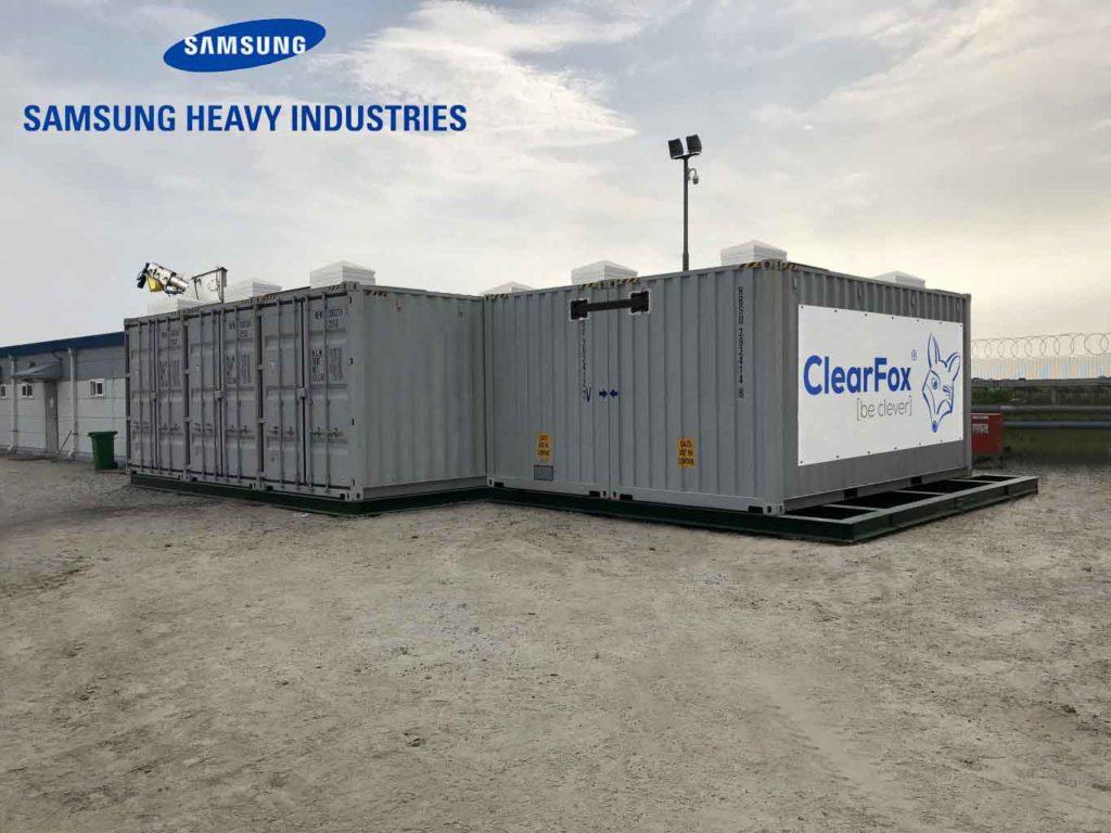 ClearFox treatment plant for Samsung