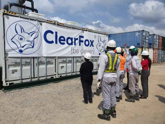 ClearFox Nigeria treatment plant