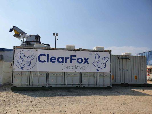 ClearFox treatment plant for Samsung heavy industries