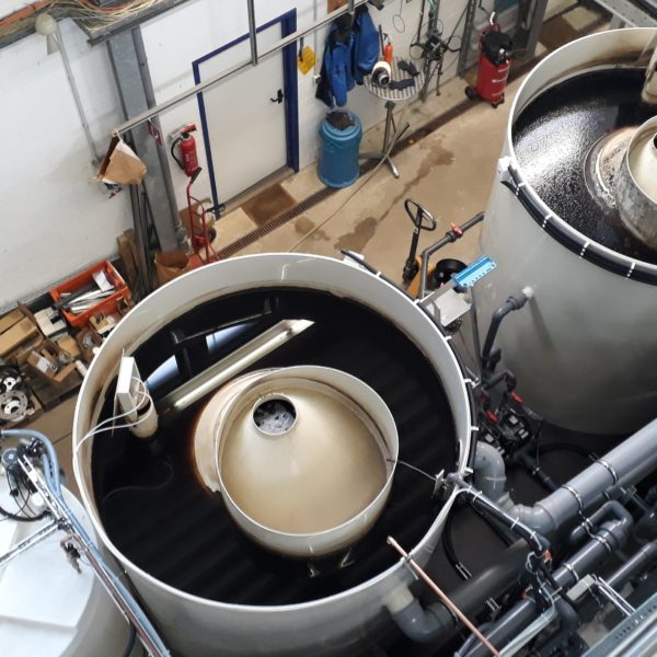 chemical wastewater treatment plant