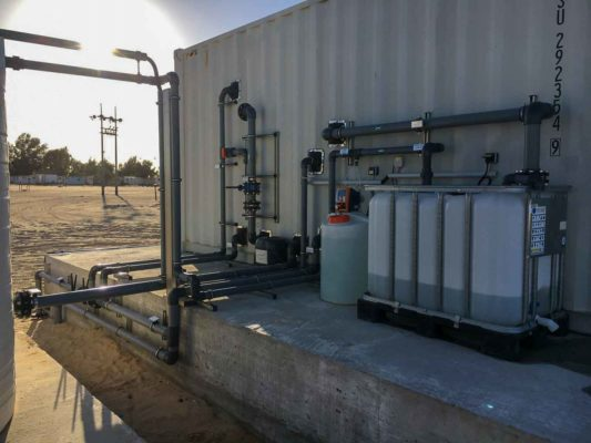 wastewaster treatment plant