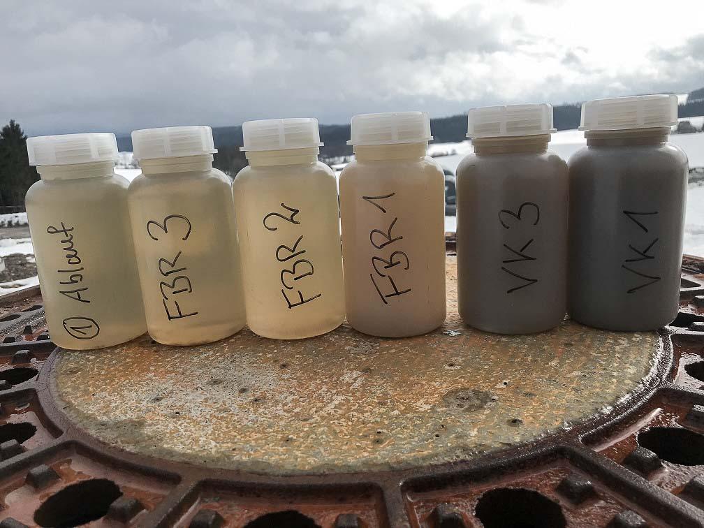 slurry water jar test