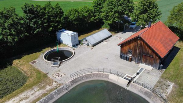 ClearFox® containerized wastewater treatment with fixed bed reactor