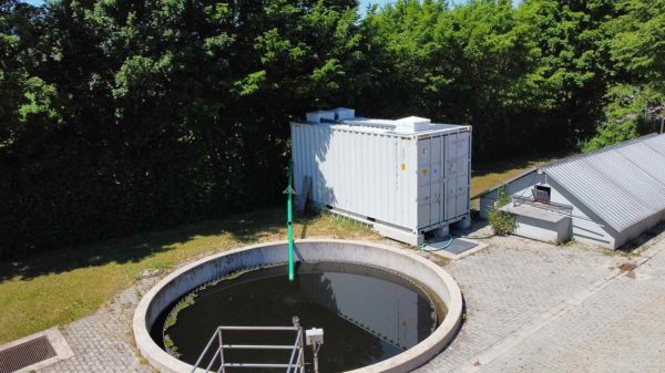 Leasing process for wastewater treatment systems