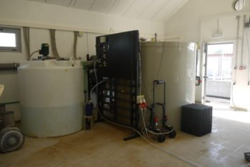 Wastewater treatment in fish industry