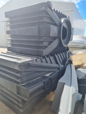 Rotationally moulded containers for ClearFox® wastewater treatment