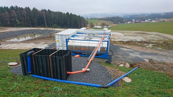 ClearFox® wastewater treatment solution for dairy wastewater treatment