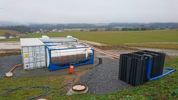 ClearFox® leasing system for dairy wastewater treatment