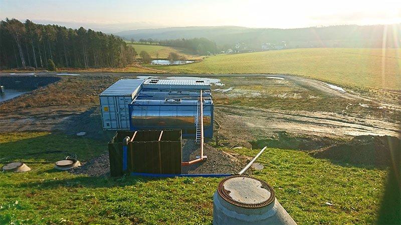 ClearFox® dairy wastewater treatment