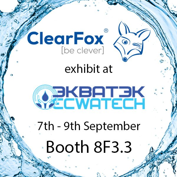 ClearFox® at Ecwatech in Russia
